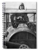 Edward Rickenbacker Spiral Notebook