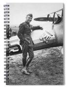 Edward V. Rickenbacker Spiral Notebook