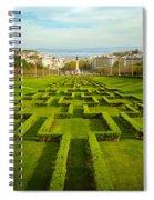 Edward Vii Park Spiral Notebook