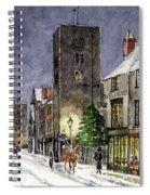 Edwardian Oxford Spiral Notebook