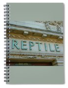 Edwardian Reptile House  Spiral Notebook