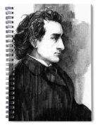 Edwin Booth Spiral Notebook