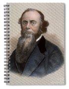 Edwin M. Stanton Spiral Notebook