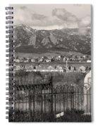 Eerie Cemetery Spiral Notebook