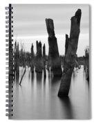 Eerie Lake Spiral Notebook