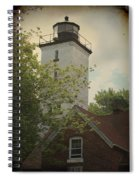 Erie Lighthouse 1872 Spiral Notebook
