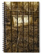 Eerie Place Spiral Notebook