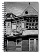 Eerie Winchester House  Spiral Notebook