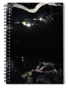 Eery Reflections Spiral Notebook