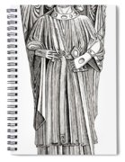 Effigy Of King John On His Tomb In Spiral Notebook