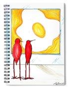Egg Spiral Notebook