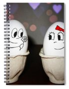 Egg Love Spiral Notebook