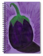 Eggplant Spiral Notebook