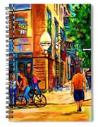 Eggspectation Cafe On Esplanade Spiral Notebook