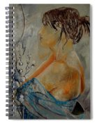 Eglantine Before The Mirror  Spiral Notebook