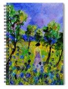 Eglantine's Summer Walk Spiral Notebook