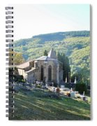 Eglise Saint Andre Spiral Notebook