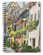 Eguisheim In Bloom Spiral Notebook