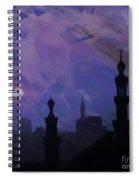 Egypt Mosque  Spiral Notebook