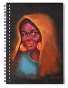 Egyptian Beauty Spiral Notebook