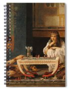 Egyptian Chess Players Spiral Notebook