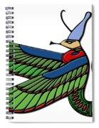 Egyptian Demon Spiral Notebook