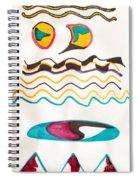 Egyptian Design Spiral Notebook
