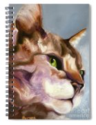 Egyptian Mau Princess Spiral Notebook