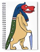 Egyptian Mythical Creature Spiral Notebook