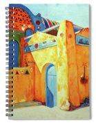 Egyptian Nubian House Spiral Notebook