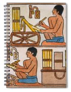 Egyptian Scribes Spiral Notebook