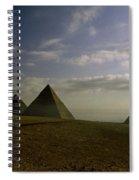 Egyptian Sunrise Spiral Notebook