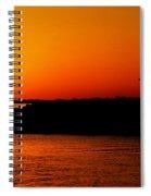Egyptian Sunset On Lake Nasser Spiral Notebook