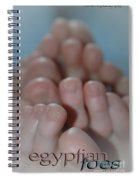 Egyptian Toes Spiral Notebook