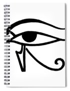 Egyptian Utchat Spiral Notebook