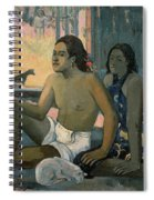Eiaha Ohipa Or Tahitians In A Room Spiral Notebook
