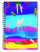Eid Moubarak Spiral Notebook