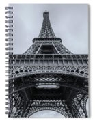 Eiffel Tower 3 Spiral Notebook