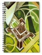 Eiffel Tower And Jardin Du Champ De Mars Spiral Notebook