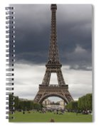 Eiffel Tower. Paris Spiral Notebook