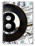 Eight Ball Power Spiral Notebook