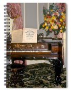 Eighteenth Century Piano And Parlor Spiral Notebook