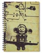 Eighties Rewind  Spiral Notebook