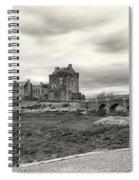 Eilean Donan Castle Bw 1337 Spiral Notebook