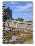 Eilean Donan Castle In Scotland Spiral Notebook