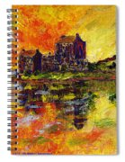 Eilean Donan Spiral Notebook