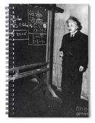 Einstein At Princeton University Spiral Notebook