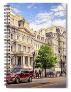 Eisenhower Executive Office Building Spiral Notebook