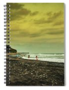 El Beach - El Salvador Spiral Notebook