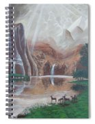 El Capitan Falls Spiral Notebook